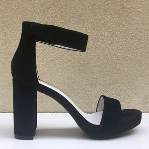 Jeffrey Campbell Shoes - New JEFFREY CAMPBELL Lindsay Suede Heeled Sandal